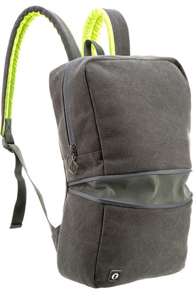 """Zipit Рюкзак Reflecto цвет серый72523WDИдеально подходит для Велоспорта - создан специально как для велосипедистов, так и для повседневной носки. Откройте горизонтальную молнию, чтобы раскрыть светоотражающую полосу для дополнительной безопасности. Удобный, мягкий, регулируемые плечевые ремни. Есть отделение для ноутбука 14"""", плюс - для книг, личных вещей и многого другого. Скрытый задний карман идеально подходит для небольших ценных вещей. Легкий уход - молния закрыта и стирать на деликатном режиме (30 ° С Макс / 86f нормальное) для легкого ухода. На молнии светоотражающие полосы-умная функция, которая обеспечивает дополнительную безопасность."""