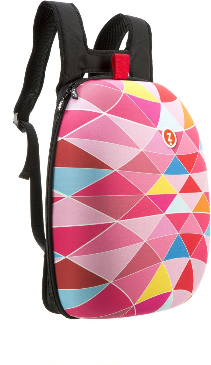 Zipit Рюкзак Shell Backpacks цвет розовыйZSHL-PKTZipit Рюкзак Shell Backpacks Multi - современная и яркая модель для активных подростков. Геометрия линий и контрастная цветовая гамма составляют беспроигрышную формулу привлекательного дизайна, который не останется незамеченным и поможет выделиться на фоне остальных своих ровесников. Ортопедическая спинка рюкзака благоприятным образом скажется на состоянии формирующегося позвоночника, избавив владельца от перегрузок, подарив ощущение комфорта во время переноски. Эргономичная конструкция выполнена из стопроцентного упрочненного полиэстера, который будет держать свою форму, несмотря на капризы непогоды. Внутреннее пространство поражает своей функциональной продуманностью: сюда может поместиться ноутбук с диагональю 14 дюймов и iPad, необходимые канцелярские принадлежности, учебники и кошелек. Прочный жесткий рюкзак в мягкой обшивке на молнии сохранит все в целости и сохранности. Мягкая спинка, регулируемые ремни обеспечат удобство и комфорт. Размер: 30 х 42 х 15 см.