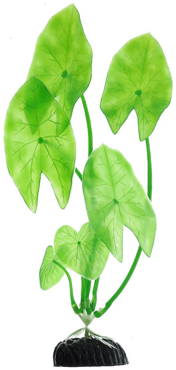 Растение для аквариума Barbus Нимфея, пластиковое, высота 20 см0120710Растение для аквариума Barbus Нимфея, выполненное из качественного пластика, станет прекрасным украшением вашего аквариума. Пластиковое растение идеально подходит для дизайна всех видов аквариумов. Оно абсолютно безопасно, нейтрально к водному балансу, устойчиво к истиранию краски, подходит как для пресноводного, так и для морского аквариума. Растение для аквариума Barbus поможет вам смоделировать потрясающий пейзаж на дне вашего аквариума или террариума. Высота растения: 20 см.