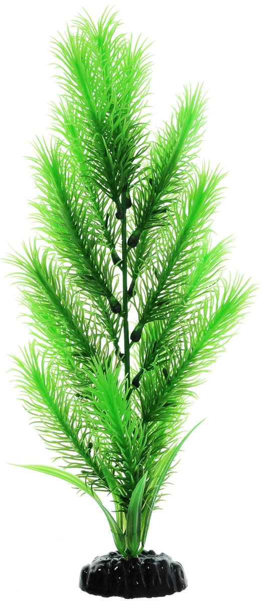 Растение для аквариума Barbus Перистолистник зеленый, пластиковое, высота 30 см0120710Растение для аквариума Barbus Перистолистник зеленый, выполненное из качественного пластика, станет прекрасным украшением вашего аквариума. Пластиковое растение идеально подходит для дизайна всех видов аквариумов. Оно абсолютно безопасно, нейтрально к водному балансу, устойчиво к истиранию краски, подходит как для пресноводного, так и для морского аквариума. Растение для аквариума Barbus поможет вам смоделировать потрясающий пейзаж на дне вашего аквариума или террариума. Высота растения: 30 см.