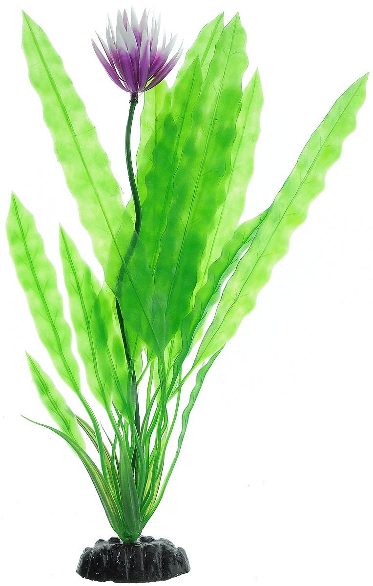 Растение для аквариума Barbus Апоногетон курчавый, пластиковое, высота 30 см0120710Растение Barbus Апоногетон курчавый, выполненное из высококачественного нетоксичного пластика, станет оригинальным украшением вашего аквариума. Пластиковое растение идеально подходит для дизайна всех видов аквариумов. В воде происходит абсолютная имитация живых растений. Изделие не требует дополнительного ухода. Растение абсолютно безопасно, нейтрально к водному балансу, устойчиво к истиранию краски, подходит как для пресноводного, так и для морского аквариума. Растение для аквариума Barbus Апоногетон курчавый поможет вам смоделировать потрясающий пейзаж на дне вашего аквариума.Высота растения: 30 см.