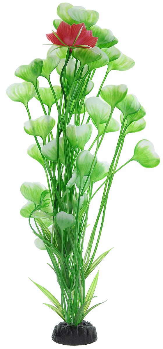 Растение для аквариума Barbus Кувшинка с цветком, пластиковое, высота 50 смPlant 019/20Растение для аквариума Barbus Кувшинка с цветком, выполненное из качественного пластика, станет оригинальным украшением вашего аквариума. Пластиковое растение идеально подходит для дизайна всех видов аквариумов. Оно абсолютно безопасно, нейтрально к водному балансу, устойчиво к истиранию краски, подходит как для пресноводного, так и для морского аквариума. Растение для аквариума Barbus поможет вам смоделировать потрясающий пейзаж на дне вашего аквариума или террариума. Высота растения: 50 см.