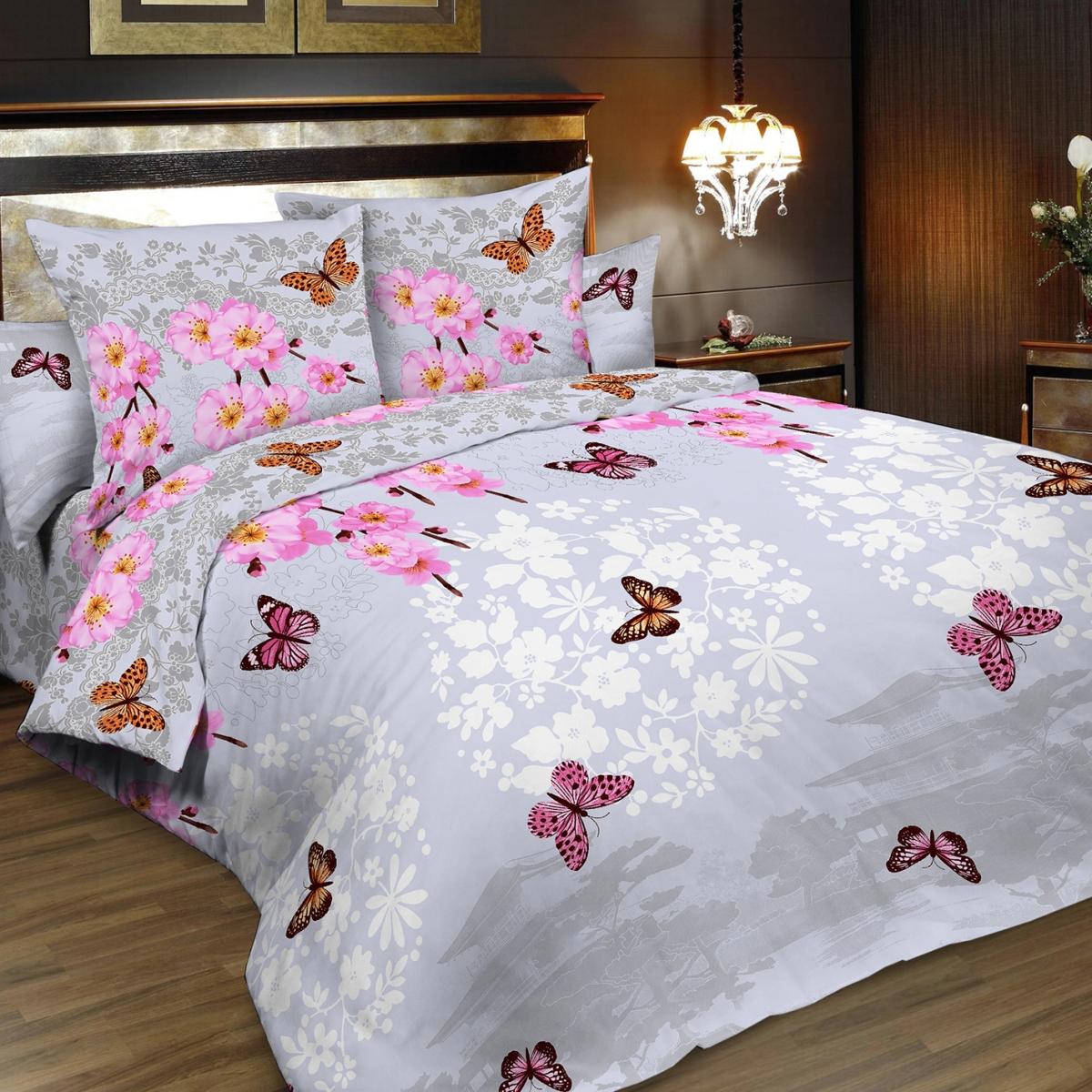 Комплект белья Letto, 2-спальный, наволочки 70х70. B187-4 комплект белья letto 2 спальное наволочки 70х70 цвет сиреневый в39 4