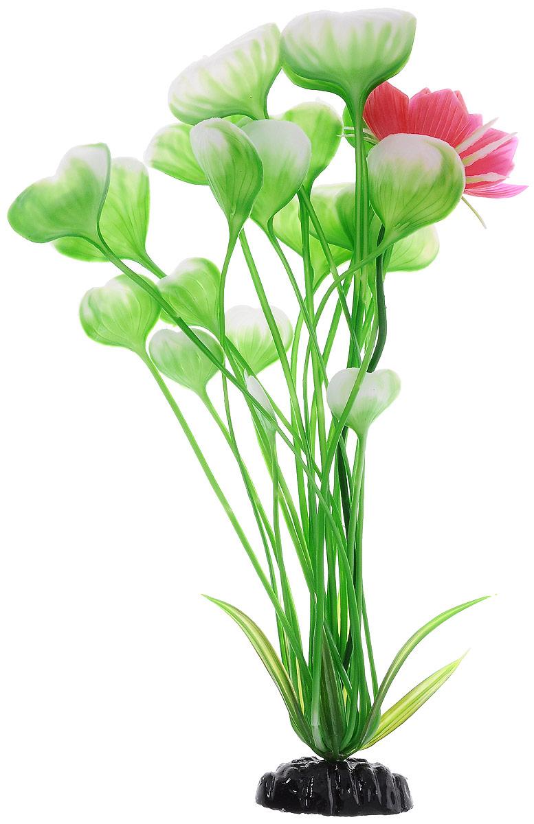 Растение для аквариума Barbus Кувшинка с цветком, пластиковое, высота 30 смAccessory 062Растение для аквариума Barbus Кувшинка с цветком, выполненное из качественного пластика, станет оригинальным украшением вашего аквариума. Пластиковое растение идеально подходит для дизайна всех видов аквариумов. Оно абсолютно безопасно, нейтрально к водному балансу, устойчиво к истиранию краски, подходит как для пресноводного, так и для морского аквариума. Растение для аквариума Barbus поможет вам смоделировать потрясающий пейзаж на дне вашего аквариума или террариума. Высота растения: 30 см.
