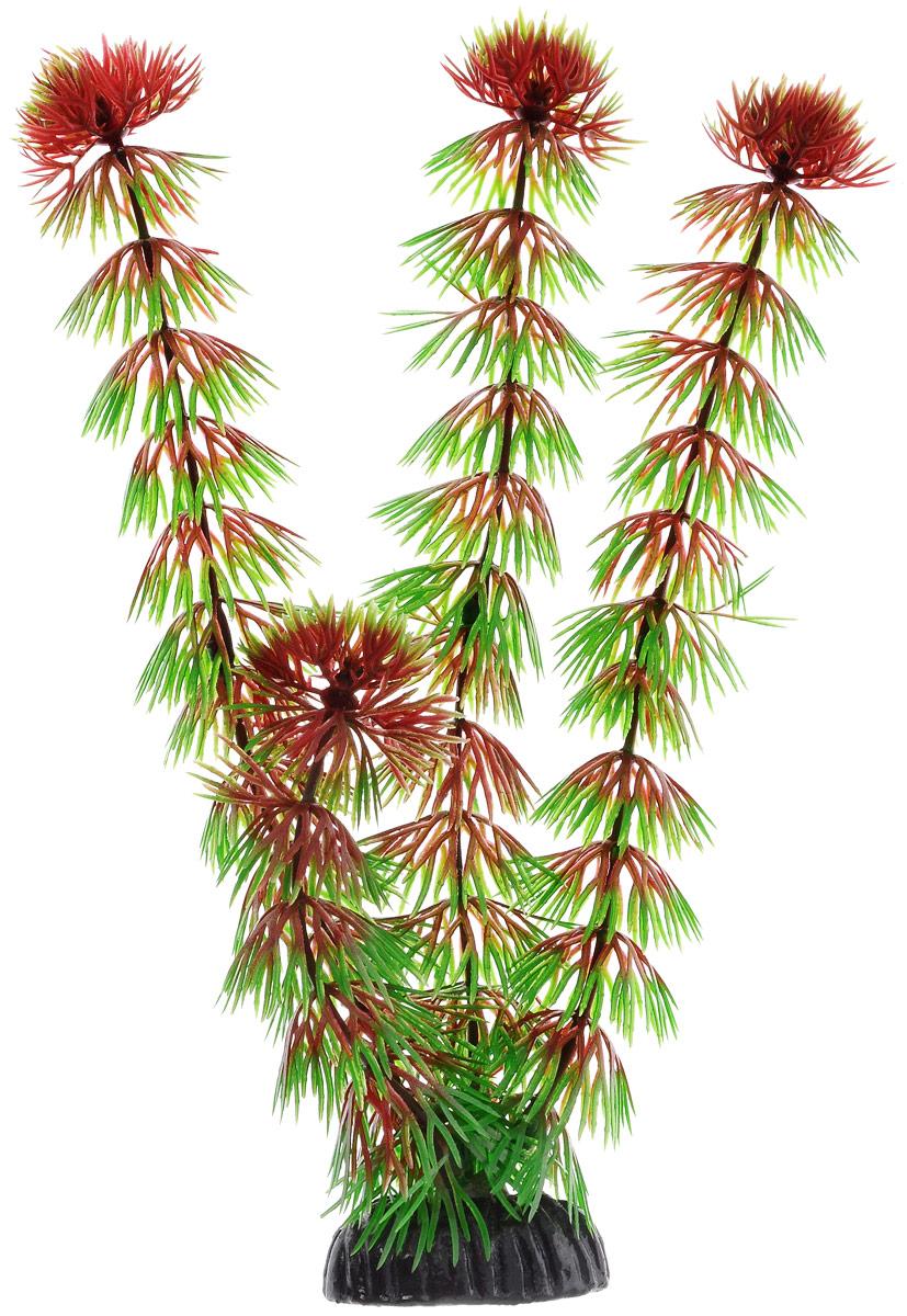 Растение для аквариума Barbus Кабомба красная, пластиковое, высота 20 см растение для аквариума barbus людвигия ползучая красная пластиковое высота 30 см