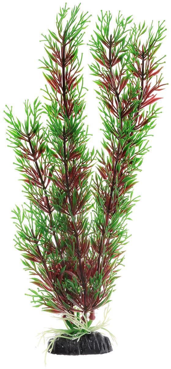 Растение для аквариума Barbus Перистолистник красный, пластиковое, высота 30 см растение для аквариума barbus людвигия ползучая красная пластиковое высота 30 см