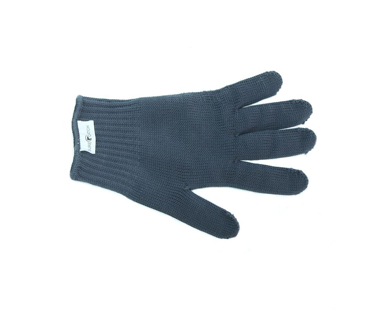 Перчатка для разделки рыбы Sure Catch. Размер S (7-8)578-Glove-4-SПерчатка Sure Catch предназначена для разделки рыбы. Сочетание синтетических и металлических нитей, позволяет надёжно удерживать рыбу при разделке и предохранить руки от порезов жабрами,плавниками, а также острым филейным ножом. При этом перчатки достаточно тонкие мягкие и не сковывают движений.