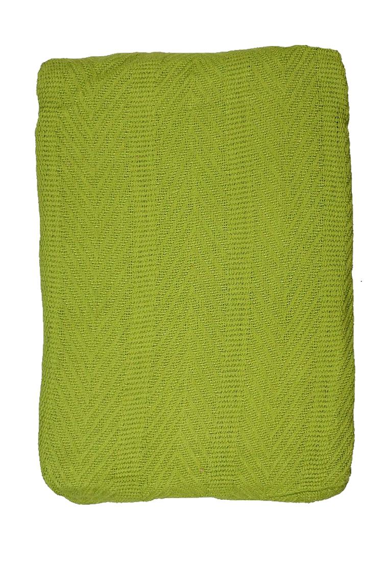 Покрывало Arloni, цвет: зеленый, 225 х 225 см. 82-1011FA-5125 WhiteПокрывало Arloni изготовлено из экологически чистых материалов: хлопка (50%) и бамбука (50%), поэтому подходит как для взрослых, так и для детей. Оно будет хорошо смотреться и на диване, и на большой кровати. Покрывало Arloni не только подарит тепло, но и гармонично впишется в интерьер вашего дома.
