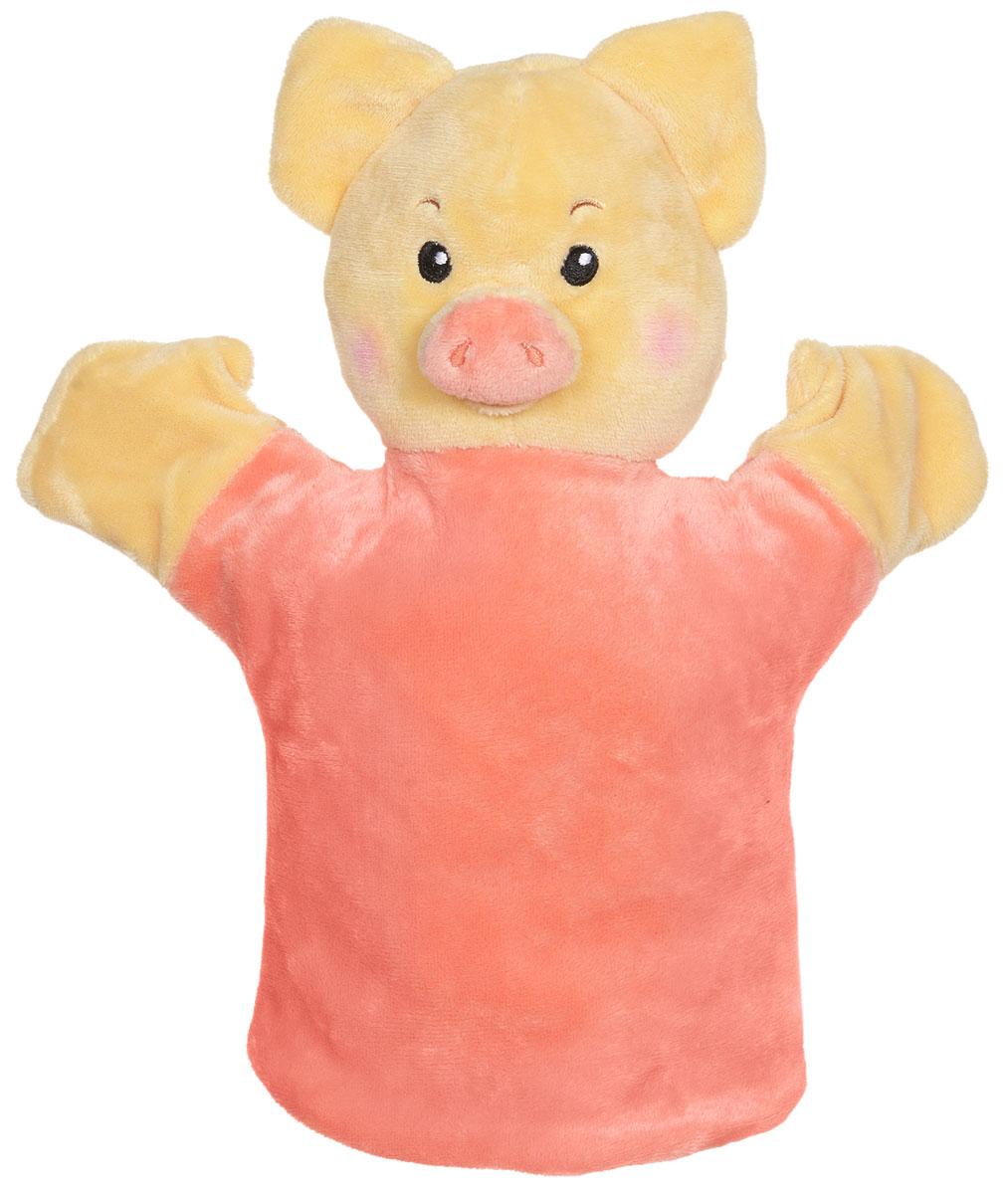 Спокойной ночи, малыши! Кукла на руку Хрюша спокойной ночи мишки