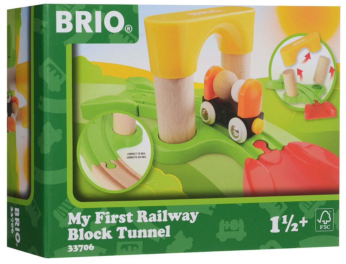 Brio Мой первый железнодорожный туннель