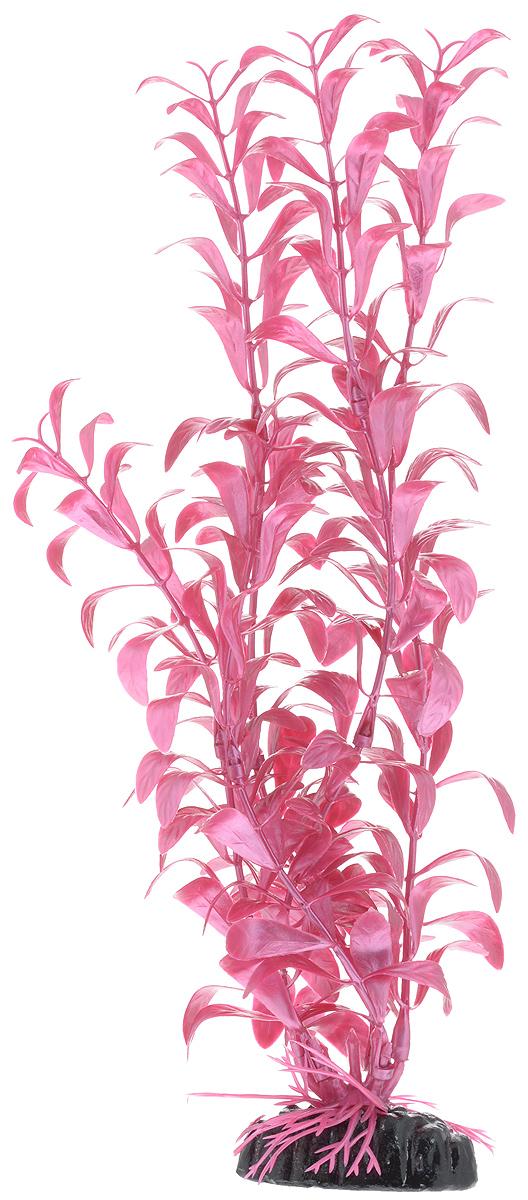 Растение для аквариума Barbus Альтернантера лиловая, пластиковое, высота 30 см растение для аквариума barbus людвигия ползучая красная пластиковое высота 30 см
