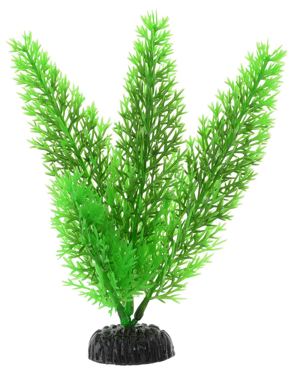 Растение для аквариума Barbus Роголистник, пластиковое, цвет: зеленый, высота 20 см0120710Растение для аквариума Barbus Роголистник, выполненное из качественного пластика, станет оригинальным украшением вашего аквариума. Пластиковое растение идеально подходит для дизайна всех видов аквариумов. Оно абсолютно безопасно, нейтрально к водному балансу, устойчиво к истиранию краски, подходит как для пресноводного, так и для морского аквариума. Растение для аквариума Barbus поможет вам смоделировать потрясающий пейзаж на дне вашего аквариума или террариума. Высота растения: 20 см.