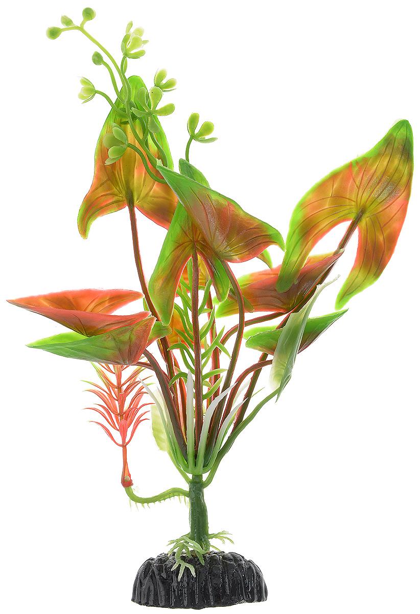 Растение для аквариума Barbus Водная калла, пластиковое, высота 20 см растение для аквариума barbus людвигия ползучая красная пластиковое высота 30 см