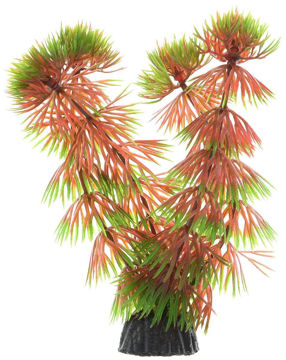 Растение для аквариума Barbus Кабомба красная, пластиковое, высота 10 см растение для аквариума barbus людвигия ползучая красная пластиковое высота 30 см