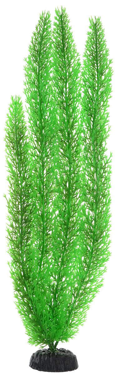Растение для аквариума Barbus Роголистник, пластиковое, цвет: зеленый, высота 50 смPlant 003/10Растение для аквариума Barbus Роголистник, выполненное из качественного пластика, станет прекрасным украшением вашего аквариума. Пластиковое растение идеально подходит для дизайна всех видов аквариумов. Оно абсолютно безопасно, нейтрально к водному балансу, устойчиво к истиранию краски, подходит как для пресноводного, так и для морского аквариума. Растение для аквариума Barbus поможет вам смоделировать потрясающий пейзаж на дне вашего аквариума или террариума. Высота растения: 50 см.