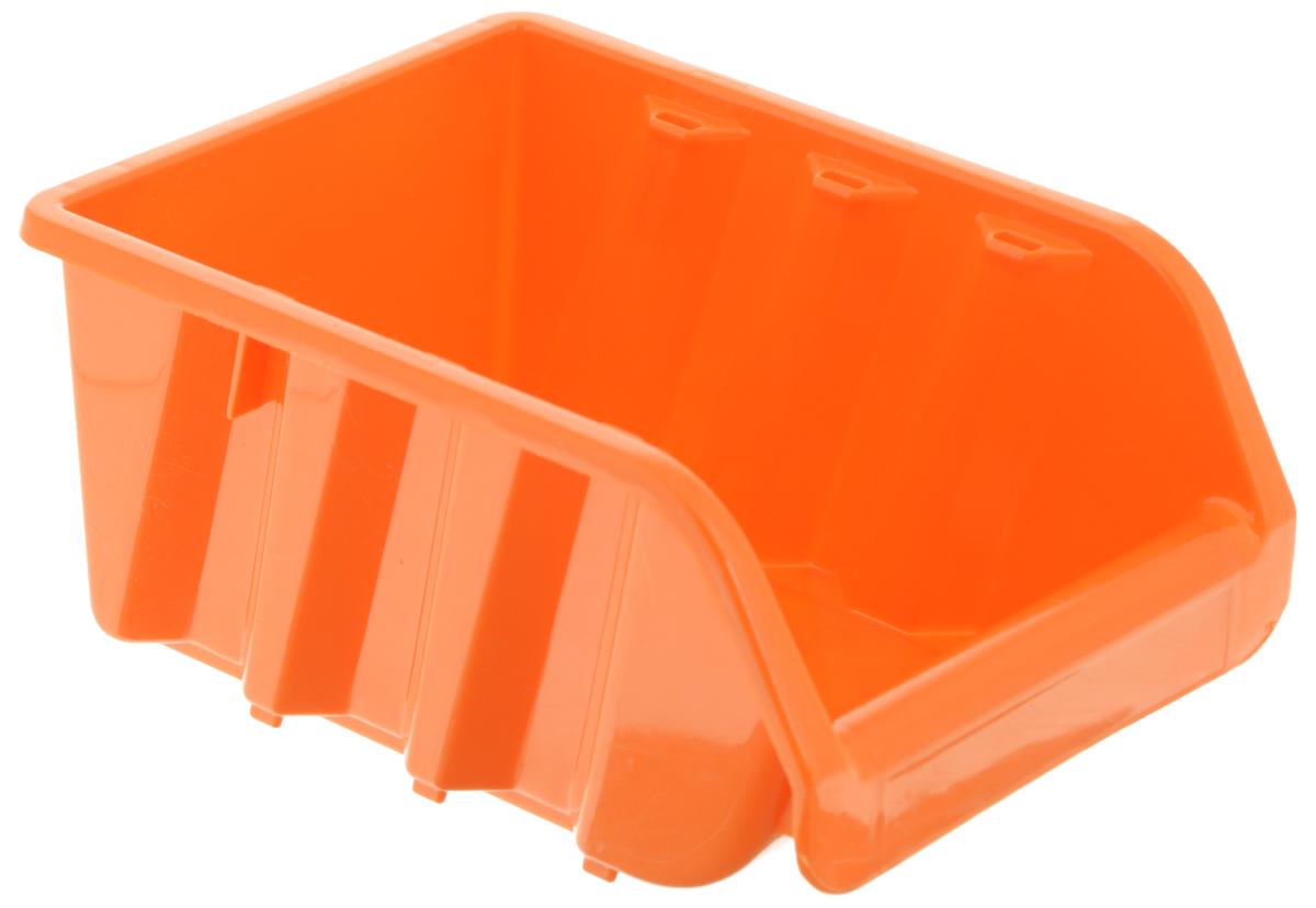 Лоток для метизов Blocker, цвет: оранжевый, 16 х 11,5 х 7,5 см413200Лоток Blocker, выполненный из высококачественного пластика, предназначен для хранения крепежа и мелкого инструмента. Имеется возможность соединения нескольких лотков одинакового размера в единый горизонтальный блок. Оптимальная конструкция передней части для удобного вынимания метизов.