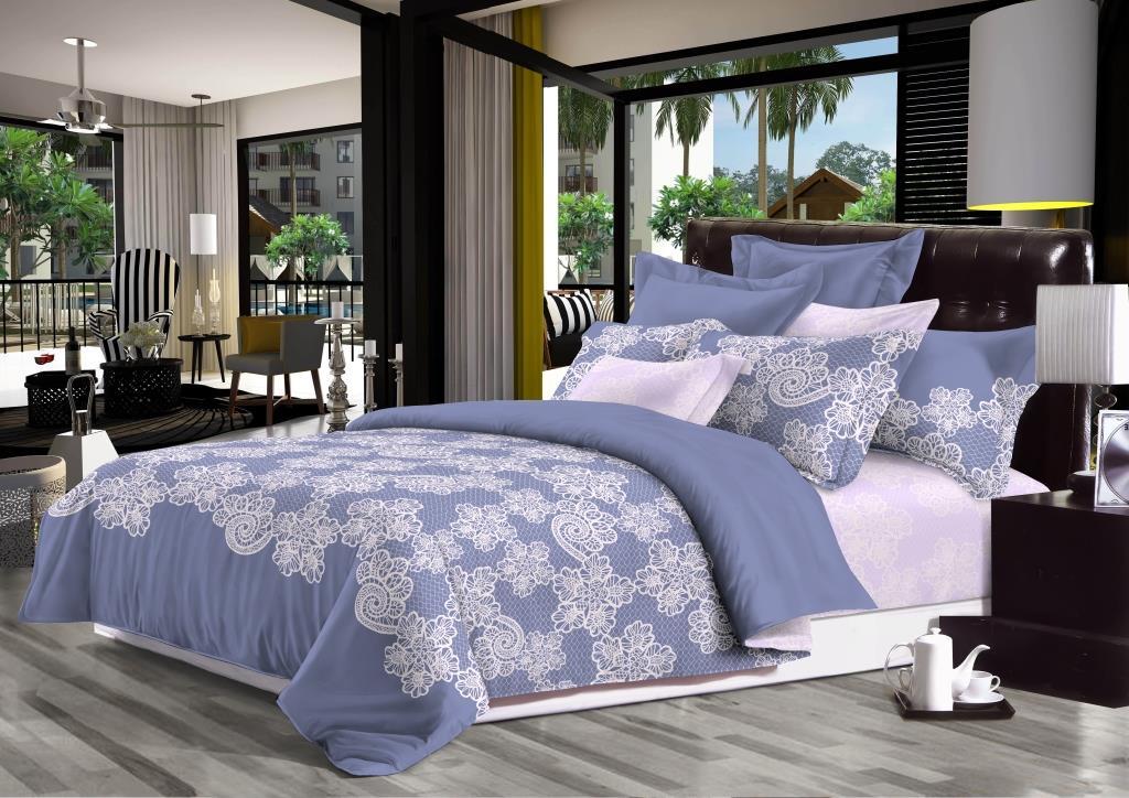 Комплект белья Seta Cecilia, 2-спальный, наволочки 70х70 комплект белья seta sabbia евро наволочки 70х70 цвет серый