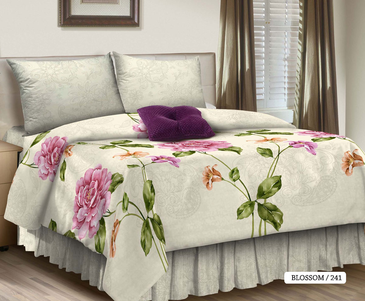 Комплект белья Seta Blossom, 1,5-спальный, наволочки 70х70016511241Идеальная простота — постельный комплект уютного белого оттенка с крупным принтом. Мерцающая, приятная на ощупь фактура ткани, из которой изготовлены изделия, дополняет эстетический эффект нежнейшим тактильным ощущением. Поплиновое постельное бельё от компании Seta имеет ряд несомненных достоинств: оно хорошо сохраняет форму и цвет, имеет приятную на ощупь поверхность, хорошо удерживает тепло и впитывает влагу. Кроме этого, комплекты постельного белья из поплина не требуют специального ухода: их можно стирать в стиральной машине при температуре до 60°C и утюжить при температуре до 110°C. Ткань поплин гипоаллергенна, отвечает всем европейским экологическим стандартам. И, наконец, такое постельное бельё при всех своих высоких эксплуатационных качествах стоит относительно недорого, изготовлено из 100 % хлопка.