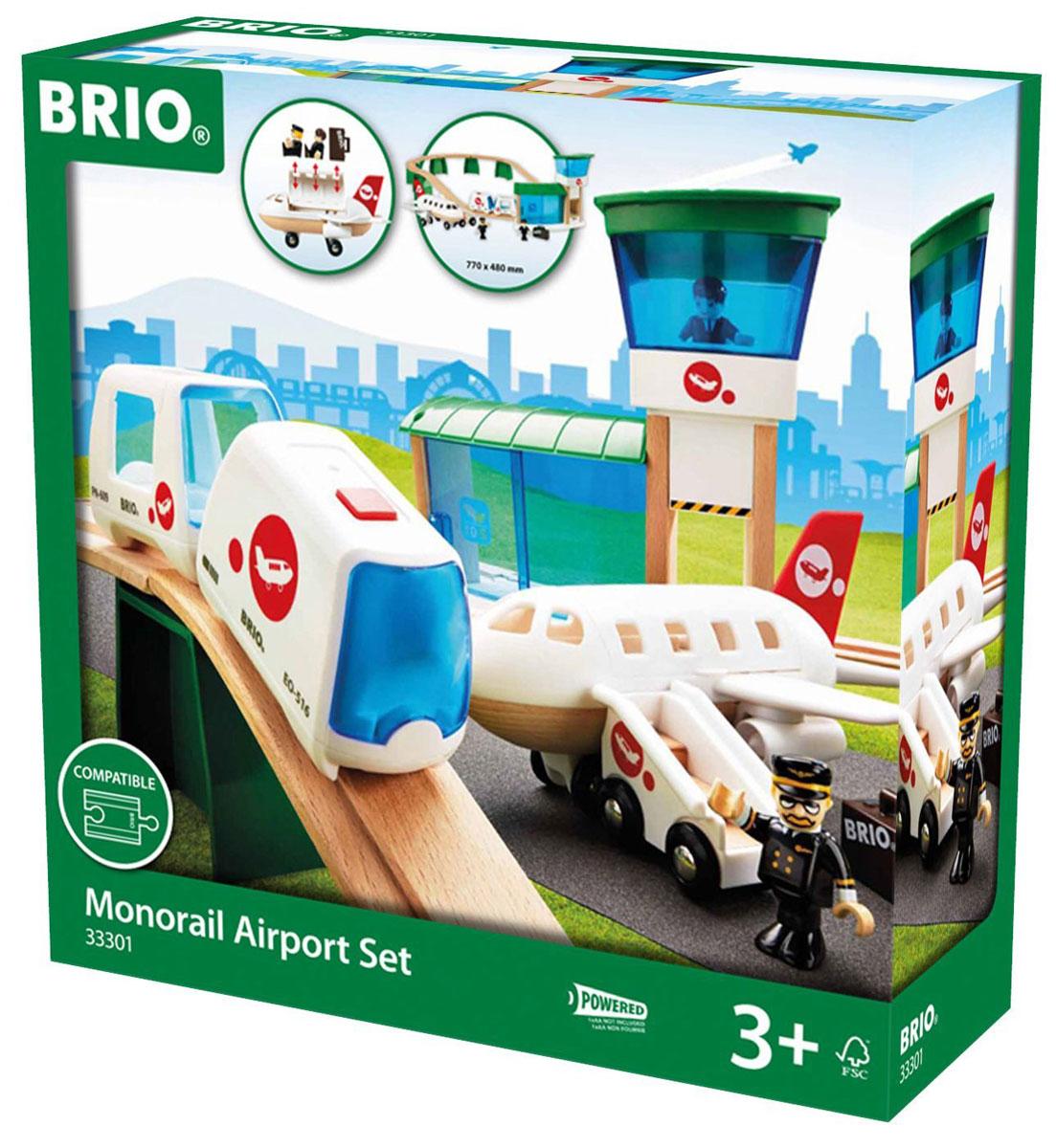 Brio Железная дорога Аэропорт