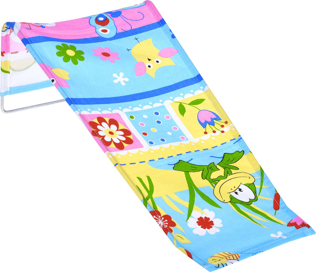 Фея Подставка для купания Лягушка цвет голубой
