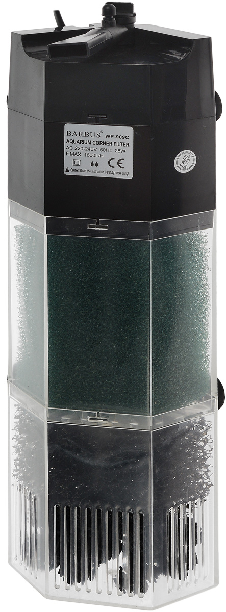 Био-фильтр секционный Barbus WP-909C, 1600 л/ч, 28 ВтFILTER 010Фильтр Barbus WP-909C предназначен для фильтрации воды в аквариумах. Секционная конструкция дает возможность использовать нижнюю ступень фильтра для заполнения био-наполнителями. Механическая фильтрация происходит за счет губки, которая поглощает грязь и очищает воду. Имеет регулятор силы потока с возможностью изменения его направления в радиусе 45°. Подходит для пресной и соленой воды. Фильтр полностью погружной.Мощность: 28 Вт.Напряжение: 220-240В.Частота: 50/60 Гц.Производительность: 1600 л/ч.Рекомендованный объем аквариума: 200-350 л. Уважаемые клиенты!Обращаем ваше внимание навозможныеизмененияв цветенекоторых деталейтовара. Поставка осуществляется в зависимости от наличия на складе.