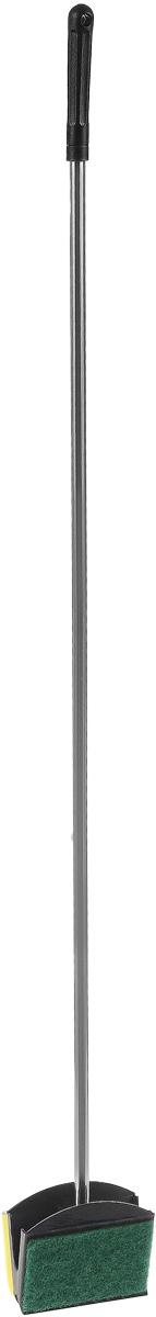 Скребок аквариумный Barbus, 3 вида чистки, 75 см0120710Скребок Barbus выполнен из высококачественного металла и пластика. Он предназначен для быстрой и тщательной очистки стекол аквариума от налета и обрастаний. Изделие оснащено мягкой губкой, жестким слоем и резиновым скребком. Общая длина скребка: 75 см. Размер губки: 8 х 5 см.Размер жесткого слоя: 8 х 5 см.Ширина скребка: 8 см.