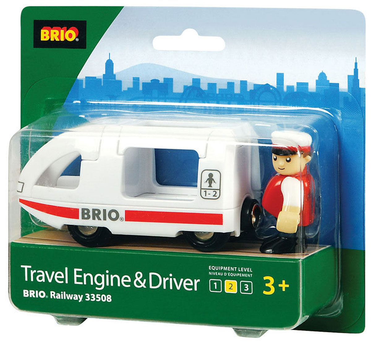 Brio Поезд-купе с машинистом