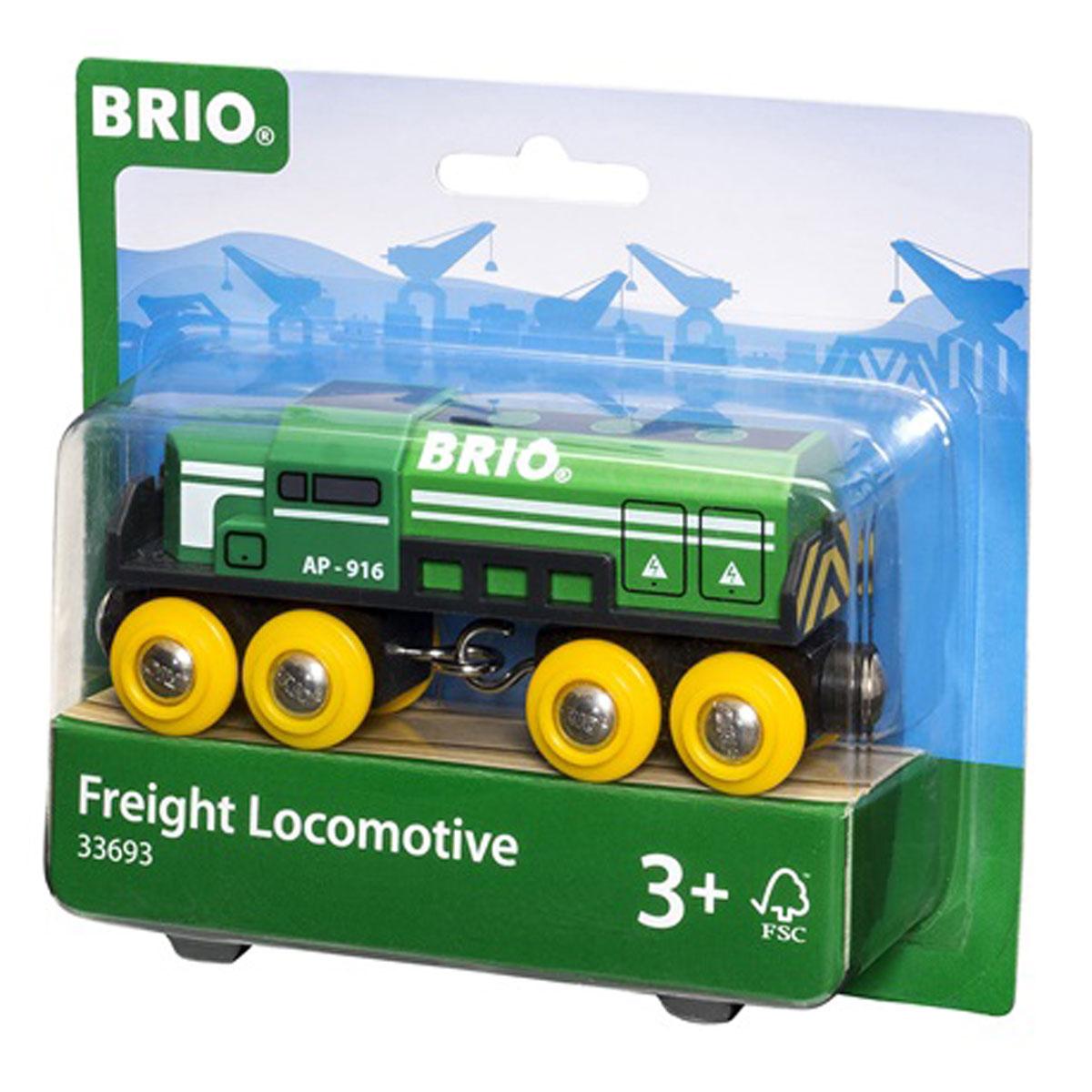 Brio Паровоз-локомотив грузовой