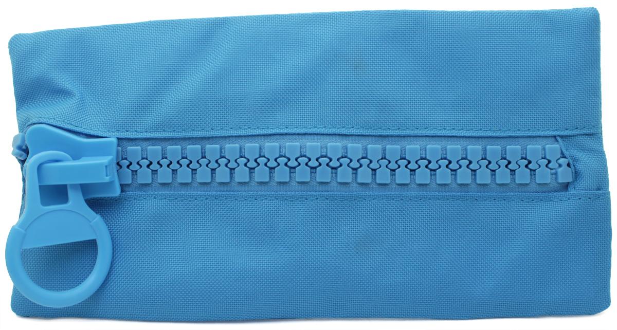 Brunnen Пенал BigZip цвет голубой72523WDПенал Brunnen BigZip изготовлен из качественного материала. Он удобен для разных мелочей и пишущих принадлежностей. Пенал застегивается на крупную пластиковую молнию.