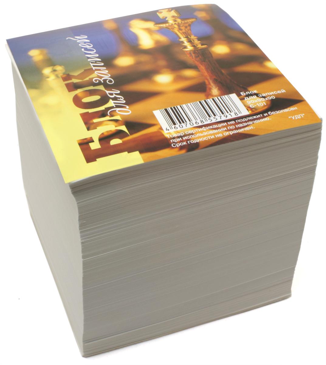 Ульяновский Дом печати Блок для записей цвет белый С-101 С-042