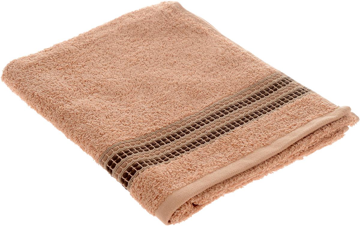 Полотенце Arya Pinar, цвет: коричневый, 50 х 90 см68/5/4Полотенце Arya Pinar выполнено из 100% хлопка. Изделие отлично впитывает влагу, быстро сохнет, сохраняет яркость цвета и не теряет форму даже после многократных стирок. Такое полотенце очень практично и неприхотливо в уходе. Оно создаст прекрасное настроение и украсит интерьер в ванной комнате.