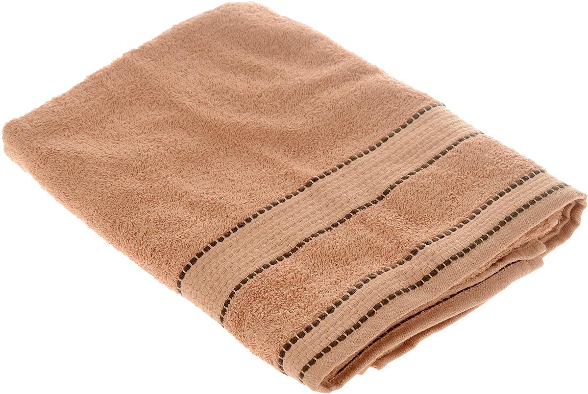 Полотенце Arya Ayca, цвет: коричневый, 70 х 130 смS03301004Полотенце Arya Ayca выполнено из 100% хлопка. Изделие отлично впитывает влагу, быстро сохнет, сохраняет яркость цвета и не теряет форму даже после многократных стирок. Такое полотенце очень практично и неприхотливо в уходе. Оно создаст прекрасное настроение и украсит интерьер в ванной комнате.