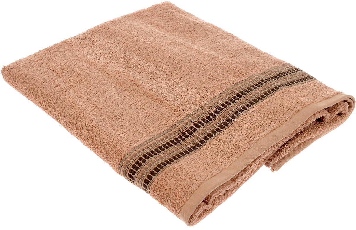 Полотенце Arya Pinar, цвет: коричневый, 70 х 130 см531-105Полотенце Arya Pinar выполнено из 100% хлопка. Изделие отлично впитывает влагу, быстро сохнет, сохраняет яркость цвета и не теряет форму даже после многократных стирок. Такое полотенце очень практично и неприхотливо в уходе. Оно создаст прекрасное настроение и украсит интерьер в ванной комнате.