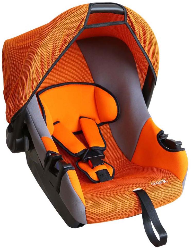 Siger Автокресло Эгида цвет оранжевый от 0 до 13 кг