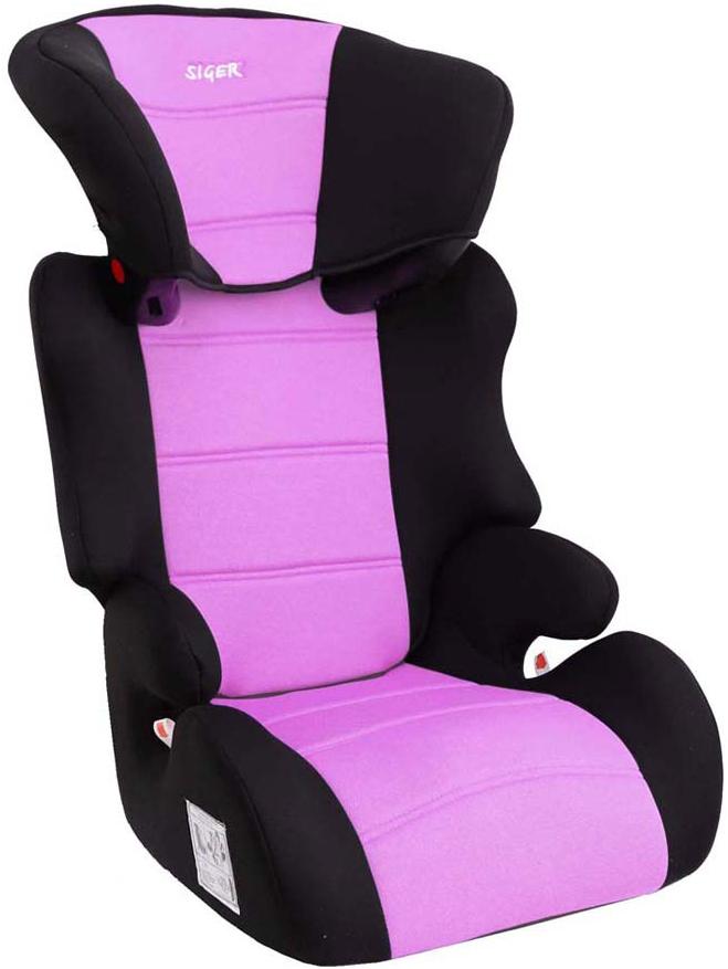 Siger Автокресло Смарт цвет фиолетовый от 15 до 36 кг