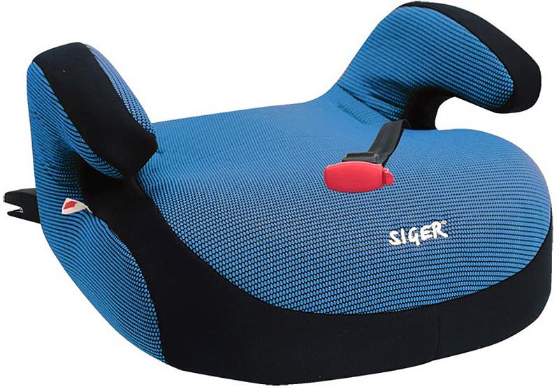 Siger Бустер Fix цвет синий от 22 до 36 кг - Автокресла и аксессуары