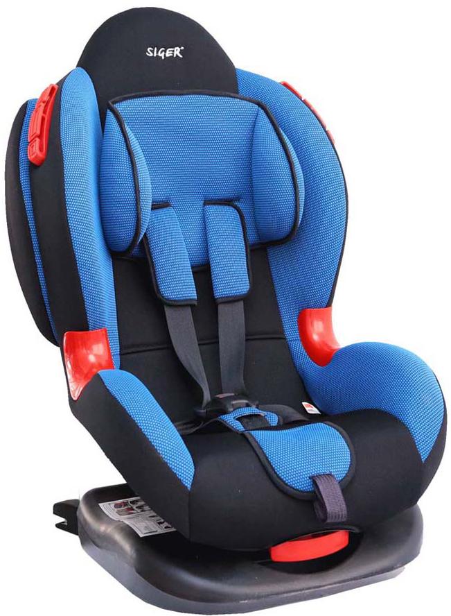 Siger Автокресло Кокон IsoFix цвет синий от 9 до 25 кгKRES0308Автокресло SigeКокон IsoFix относится к возрастной группе 1/2, для детей от 1 года до 7 лет, весом от 9 кг до 25 кг.Мягкий подголовник, специальная ортопедическая спинка и накладки внутренних ремней повышают уровень комфорта во время поездки. Специальные пластиковые накладки и направляющие штатного ремня гарантируют правильное прохождение ремня безопасности.Автокресло Siger Кокон Isofix имеет ярко-выраженную боковую и тыльную защиту головы. Чехол изготовлен из качественного износостойкого и гипоаллергенного материала. Шесть положений регулировки наклона автокресла позволяют ребенку удобно спать в дороге.За счет европейской системы крепления Isofix достигается безошибочная установка кресла в два щелчка. Автокресло крепится к силовому каркасу автомобиля, что обеспечивает повышенную безопасность.Детские удерживающие устройства Siger разработаны и выполнены в России с учетом анатомии российских детей. Двухпозиционная регулировка внутренних ремней позволяет адаптировать кресло Siger Кокон Isofix под зимнюю и летнюю одежду ребенка. Автокресло успешно прошло все необходимые тесты и имеет сертификат соответствия техническому регламенту РФ и таможенному союзу.