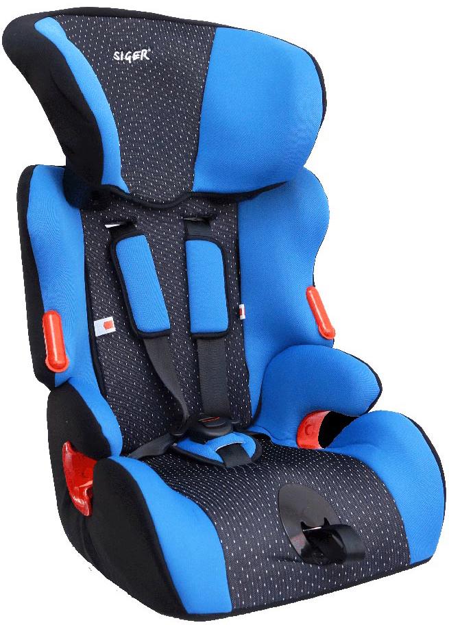 Siger Автокресло Космо цвет синий от 9 до 36 кг