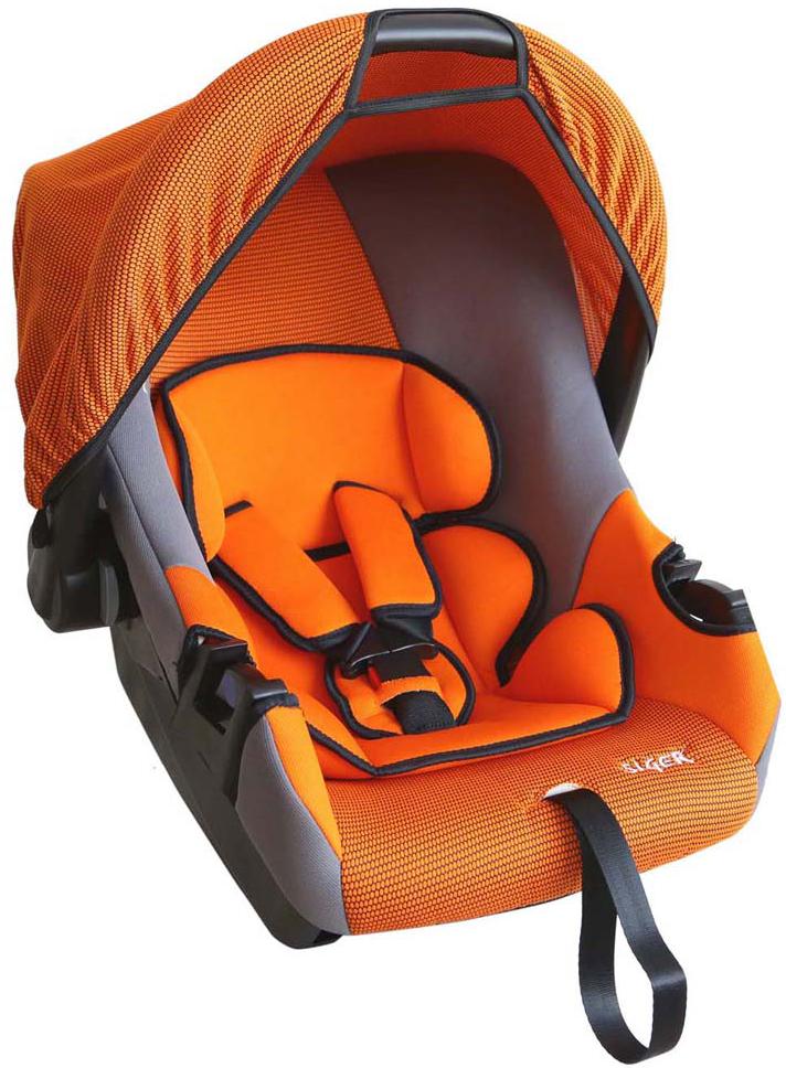 Siger Автокресло Эгида Люкс цвет оранжевый от 0 до 13 кг