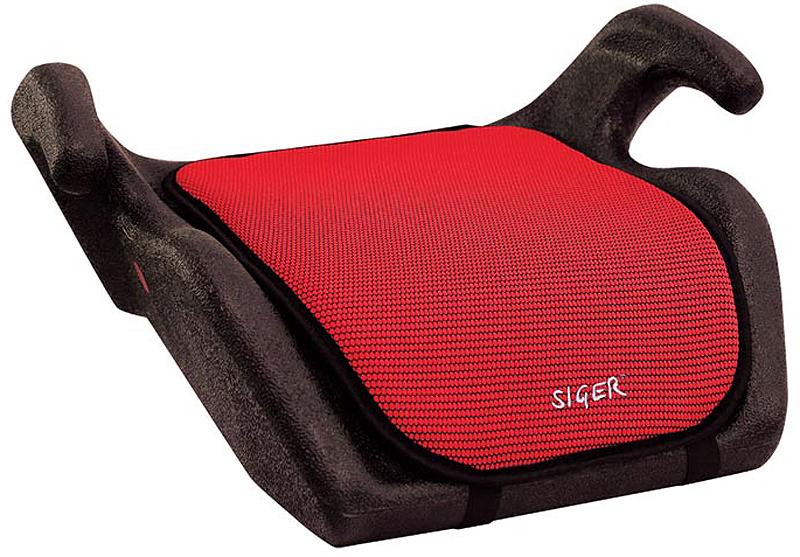 Siger Бустер Мякиш цвет красный от 22 до 36 кг