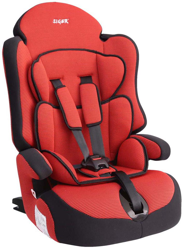 Siger Автокресло Прайм IsoFix цвет красный от 9 до 36 кг - Автокресла и аксессуары