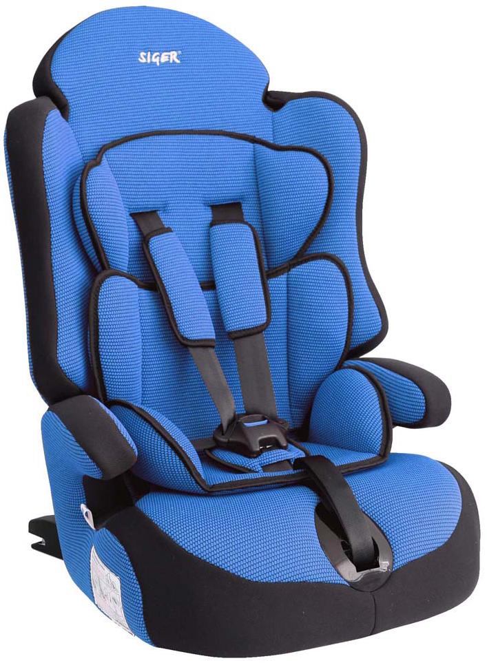Siger Автокресло Прайм IsoFix цвет синий от 9 до 36 кгКРЕS0232Детское автокресло Siger Прайм IsoFix разработано для детей от 1 года до 12 лет, весом от 9 до 36 кг. Относится к возрастной группе 1/2/3. Отличительным свойством автокресла является простота и надежность крепления его к автомобилю. Это достигается благодаря системе крепления Isofix. Для удобства малышей от 1 до 4 лет автокресло оборудовано пятиточечным ремнем безопасности с регулировкой по глубине и высоте, мягким съемным вкладышем и мягкими накладками на ремни. Съемный чехол изготовлен из нетоксичного гипоаллергенного материала, который безопасен для малыша. Округлая форма сиденья не режет ножки ребенка и предохраняет их от затекания. Особая форма спинки надежно защищает от боковых ударов.Детские удерживающие устройства Siger разработаны и выполнены в России с учетом анатомии российских детей.Автокресло успешно прошло все необходимые краш-тесты и имеет сертификат соответствия техническому регламенту РФ и таможенному союзу. В детском автомобильном кресле Siger ваш ребенок будет путешествовать в безопасности и с удовольствием!