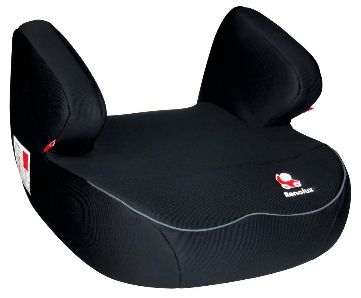 Renolux Автокресло Jet Total Black229555Бустер Renolux Jet для возрастной группы 2/3 (от 15 до 36 кг). Автомобильное кресло-бустер предназначено для безопасной перевозки в автомобиле детей весом от 15 до 36 кг, одобрено в соответствии со стандартами ECE R44/04. Конструкция бустера изготовлена по инновационной технологии THD - пенополиуретан высокой плотности на каркасе из высокопрочной стали. Бустер Jet идеально подходит для длительных поездок, потому что он исключительно удобный и мягкий. Выбирая эту моделькресла, вы можете быть уверены, что она спроектирована и произведена во Франции.Особенности: технология HD-CONFORT: пена высокой плотности на каркасе из высокопрочной стали; широкое и суперкомфортное сиденье; идеально для длительных поездок; очень легкое; легко снимается чехол для стирки; сделано во Франции.