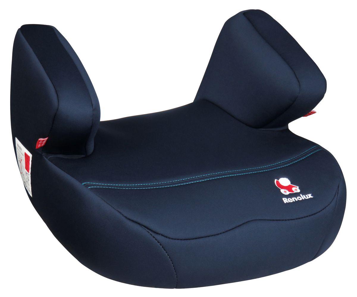 Renolux Автокресло Jet MidnightВетерок 2ГФБустер Renolux Jet для возрастной группы 2/3 (от 15 до 36 кг). Автомобильное кресло-бустер предназначено для безопасной перевозки в автомобиле детей весом от 15 до 36 кг, одобрено в соответствии со стандартами ECE R44/04. Конструкция бустера изготовлена по инновационной технологии THD - пенополиуретан высокой плотности на каркасе из высокопрочной стали. Бустер Jet идеально подходит для длительных поездок, потому что он исключительно удобный и мягкий. Выбирая эту моделькресла, вы можете быть уверены, что она спроектирована и произведена во Франции.Особенности: технология HD-CONFORT: пена высокой плотности на каркасе из высокопрочной стали; широкое и суперкомфортное сиденье; идеально для длительных поездок; очень легкое; легко снимается чехол для стирки; сделано во Франции.