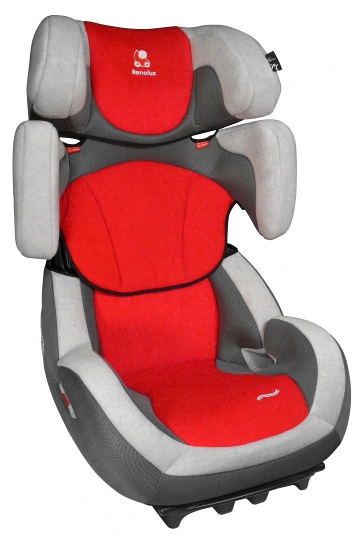 Renolux Автокресло Step 23 цвет красный - Автокресла и аксессуары