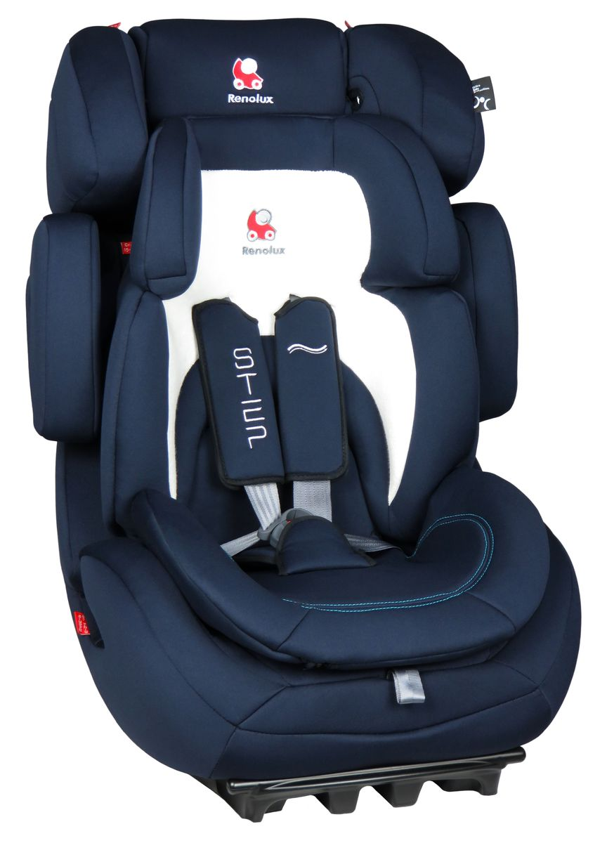 Renolux Автокресло Step 123 MidnightVCA-00Детское автокресло Renolux модель Step 1/2/3 возрастная группа 1/2/3 (от 9 до 36 кг).Надежное детское автокресло предназначено для безопасной перевозки в автомобиле детей весом от 9 до 36 кг, одобрено в соответствии со стандартами ECE R44/04. Супер-адаптируемое кресло, которое растет вместе с вашим ребенком. Широкое и удобное, в нем малыш себя будет чувствовать комфортно даже в длительных путешествиях. Вкладыш-адаптер для группы 1 состоит из двух съемных частей, изготовлен с применением пенополиуретана высокой плотности.Эта модель автокресла получила бронзовый знак отличия по версии английского журнала Mother&Baby (Мама и малыш) в 2015 году.Выбирая эту модель кресла, вы можете быть уверены, что она спроектирована и произведена во Франции.Особенности: подголовник и боковая защита регулируется по ширине и высоте, встроенный в базу усилитель наклона, усиленная боковая защита, внутренние ремни безопасности (регулируются автоматически, вместе с регулировкой высоты спинки автокресла), съемный вкладыш-адаптер для группы 1 из пенополиуретана высокой плотности, ткань из натуральных бамбуковых волокон, простота установки в авто.