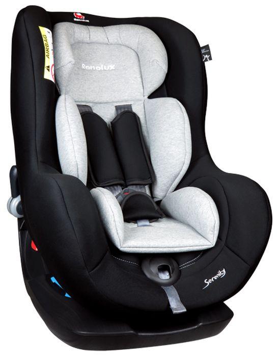 Renolux Автокресло Serenity Griffin673557Детское автокресло Renolux модель Serenity возрастная группа 0/1 (от 0 до 18 кг).Детское автокресло Renolux Serenity предназначено для перевозки в автомобиле детей возрастной группы 0+/1 (с рождения до 18 кг, примерно до 4 лет), полностью соответствует европейскому стандарту безопасности ECE R044/04. Кресло повышенной комфортности, так как продуманный корпус в форме чаши и мягкий вкладыш-адаптер для новорожденных, обеспечивают дополнительное удобство. Стильный дизайн наверняка придется по вкусу современным родителям. Модель создана с применением инновационной технологии HD-CONFORT: пена высокой плотности на каркасе из высокопрочной стали. Кресло Renolux Serenity можно устанавливать по ходу (примерно от 1 года) и против хода движения автомобиля. Кресло фиксируется при помощи штатных ремней безопасности автомобиля, а сам ребенок пятиточечными внутренними ремнями безопасности автокресла.Выбирая эту модель кресла, вы можете быть уверены, что она спроектирована и произведена во Франции.