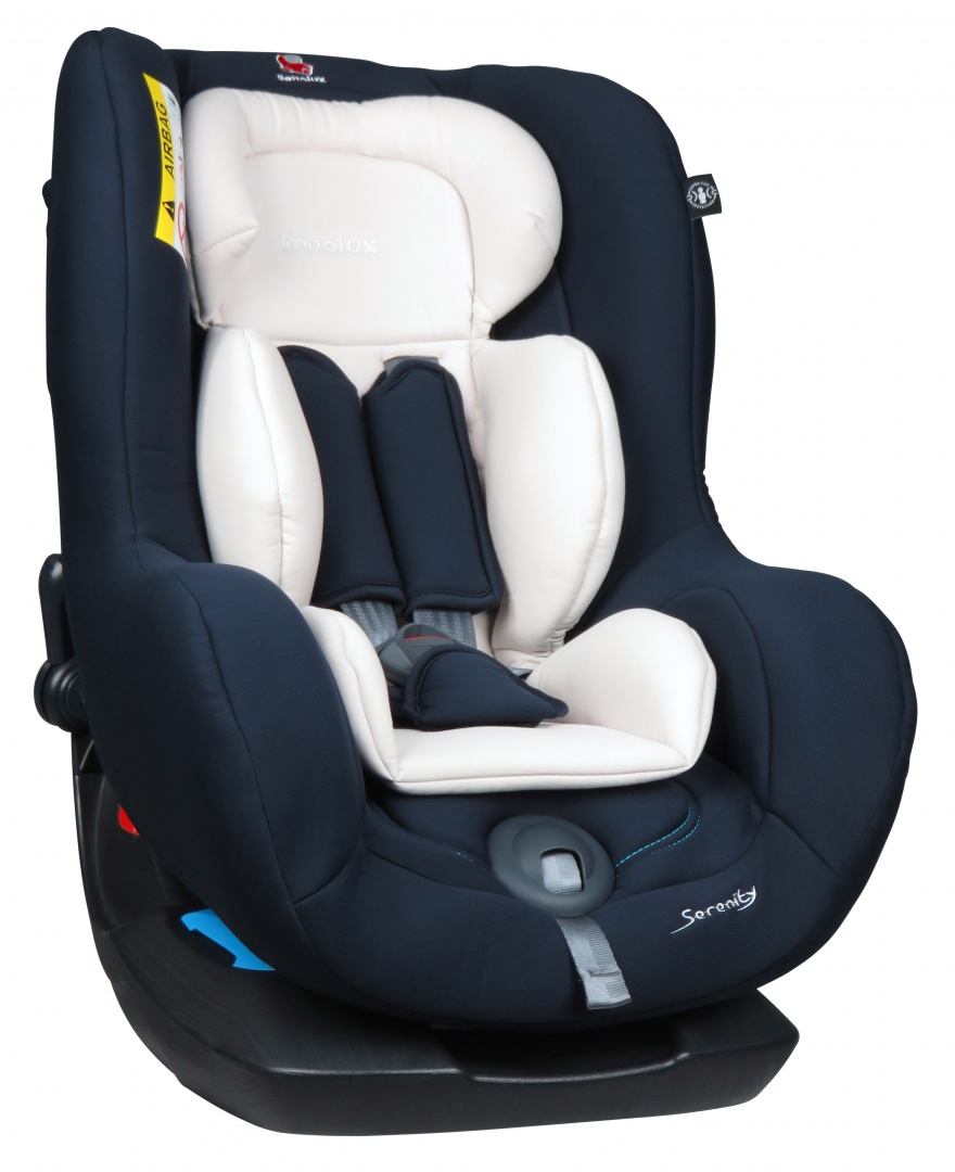 Renolux Автокресло Serenity MidnightFS-80423Детское автокресло Renolux модель Serenity возрастная группа 0/1 (от 0 до 18 кг).Детское автокресло Renolux Serenity предназначено для перевозки в автомобиле детей возрастной группы 0+/1 (с рождения до 18 кг, примерно до 4 лет), полностью соответствует европейскому стандарту безопасности ECE R044/04. Кресло повышенной комфортности, так как продуманный корпус в форме чаши и мягкий вкладыш-адаптер для новорожденных, обеспечивают дополнительное удобство. Стильный дизайн наверняка придется по вкусу современным родителям. Модель создана с применением инновационной технологии HD-CONFORT: пена высокой плотности на каркасе из высокопрочной стали. Кресло Renolux Serenity можно устанавливать по ходу (примерно от 1 года) и против хода движения автомобиля. Кресло фиксируется при помощи штатных ремней безопасности автомобиля, а сам ребенок пятиточечными внутренними ремнями безопасности автокресла.Выбирая эту модель кресла, вы можете быть уверены, что она спроектирована и произведена во Франции.