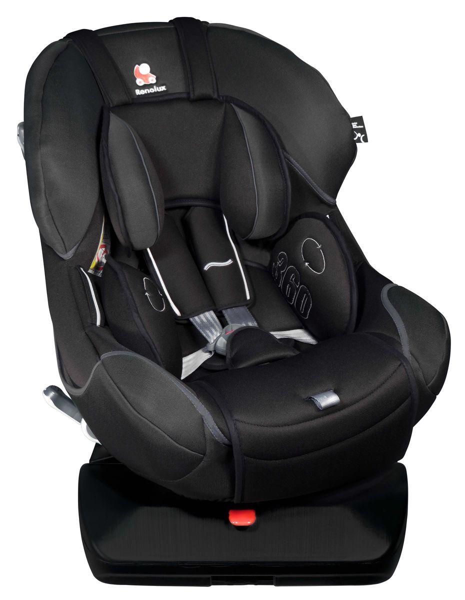 Renolux Автокресло 360 Total Black690555Детское автокресло Renolux предусмотрено для возрастной группы0+/1 (от 0 до 18 кг).Автокресло предназначено для безопасной перевозки в автомобиле детей, одобрено в соответствии со стандартами ECE R44/04. Поворотный механизм на 360 градусов отражает самые последние инновации, делает удивительно легкой посадку ребенка в автокресло.Разверните кресло к двери, усадите ребенка, затем пристигните, отрегулируйте ремни и разверните кресло, оно автоматически зафиксируется в правильном положении. Благодаря усиленной боковой защите, поездка в автомобиле будет максимально безопасной. Выбирая эту моделькресла Renolux, вы можете быть уверены, что она спроектирована и произведена во Франции.Особенности: поворотный механизм на 360 градусов; широкое и удобное кресло; боковые фиксаторы для ремней в расстегнутом положении; натяжитель ремня безопасности; усиленная боковая защита с технологией HD (пенополиуретан высокой плотности); съемныйвкладыш с подушкой для новорожденного; несколько положений наклона автокресла; сделано во Франции.