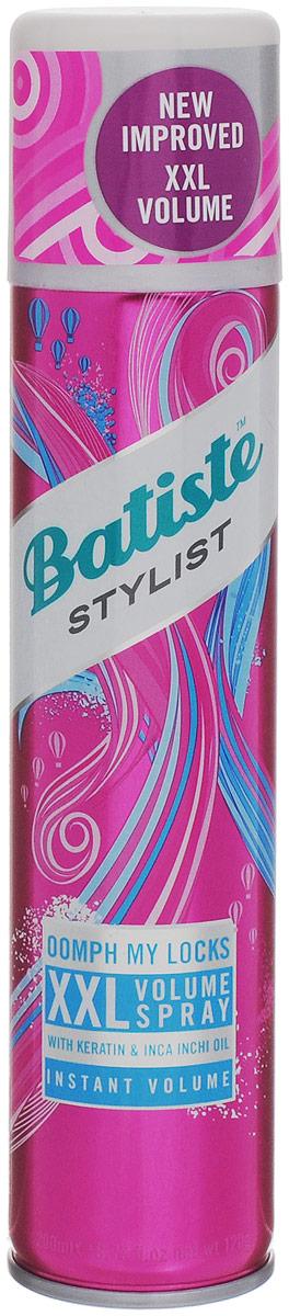 Batiste XXL VOLUME SPRAY Спрей для экстра объема волос 200 млMP59.4DСухой шампунь Batiste Volume XXL придает упругость и объем, быстро очищает и освежает волосы. Сухой шампунь устраняет жирность корней, придавая скучным и безжизненным волосам необходимый блеск, без использования воды. Быстро освежает и повышает силу волос, придает телу волоса и текстуру и оставляет ощущение чистоты и свежести. Сухой шампунь идеален для использования, когда:- у вас нет времени мыть голову обычным шампунем,- у вас много других дел,- ваша жизнь - сплошной круговорот событий.Сухой шампунь быстро и эффективно абсорбирует грязь и жир, тем самым очищая волосы. Способ применения: Шаг 1. Распылите сухой шампунь на волосы на расстоянии 30 см. Шаг 2. Помассируйте голову несколько минут. Во время массажных движений пальцами сухой шампунь проникает в стержень волоса, абсорбирует грязь и жир, тем самым восстанавливая его.Шаг 3. Причешитесь и ваши волосы снова мягкие и чистые.Товар сертифицирован.